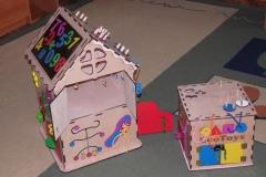 Бизикуб и Бизидом в детском саду