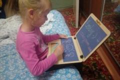 Игрушечный ноутбук у Виктории 2