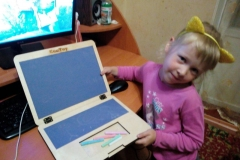 Игрушечный ноутбук у Виктории 3
