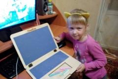 Игрушечный ноутбук у Виктории 5