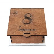 коробочка с 8 марта